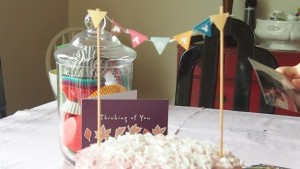 Raspberry Birthday Cake 4