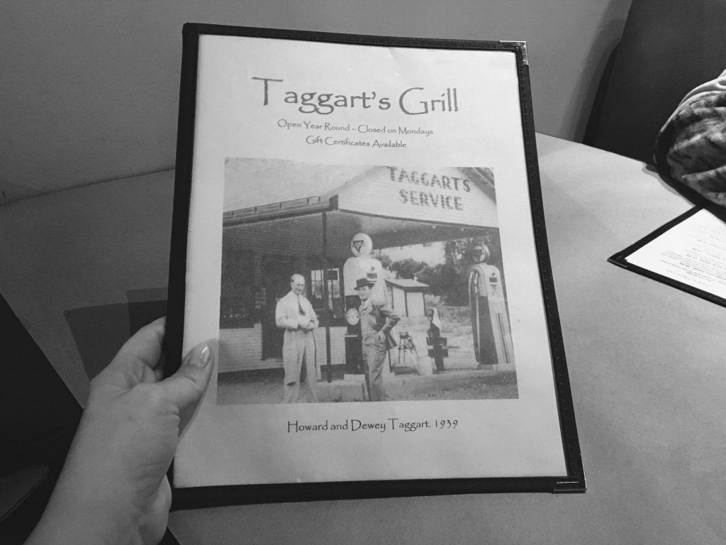 Taggart's Grill. Taggert, Utah.
